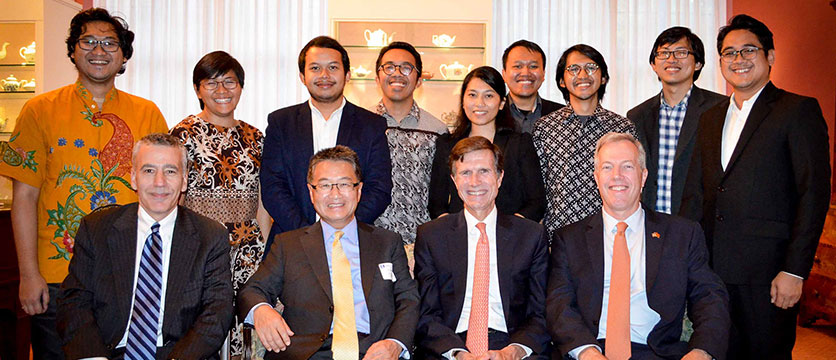 Image of the 2015 ASEAN ambassadors.